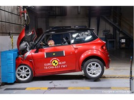 Chatenet CH30 Frontal crash test 2016