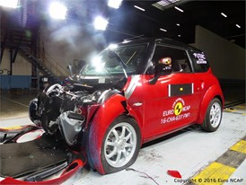 Chatenet CH30 Frontal crash test 2016 - after crash