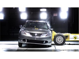 Suzuki Baleno - Side crash test 2016