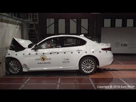 Alfa Romeo Giulia- Frontal Full Width test 2016