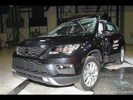Seat Ateca - Pole crash test 2016 - after crash