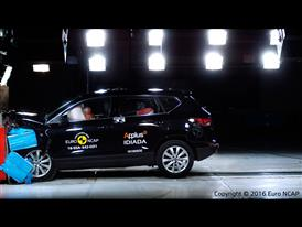Seat Ateca  - Frontal Offset Impact test 2016