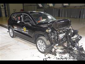 Seat Ateca - Frontal Full Width test 2016 - after crash