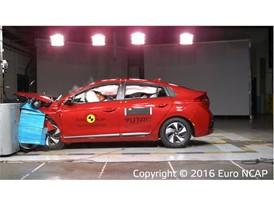 Hyundai Ioniq- Frontal Offset Impact test 2016