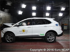 Ford Edge - Frontal Full Width test 2016