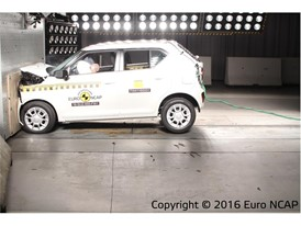 Suzuki Ignis - Frontal Full Width test 2016