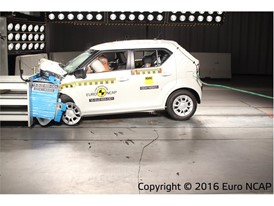 Suzuki Ignis - Frontal Offset Impact test 2016