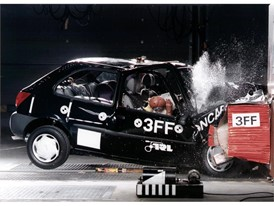Crash test phase 1 - Ford Fiesta
