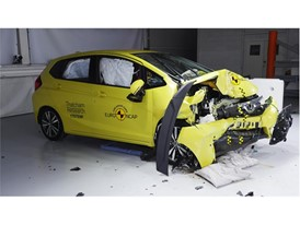 Honda Jazz 20th anniversary crash test - after crash