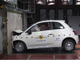Fiat 500 - Frontal Full Width test 2017