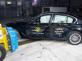 BMW 5-Series  - Side crash test 2017