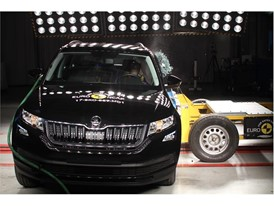 Skoda Kodiaq - Side crash test 2017