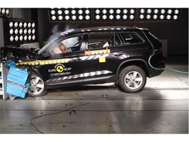 Skoda Kodiaq - Frontal Offset Impact test 2017