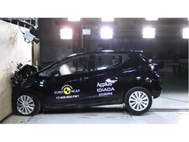 Nissan Micra - Frontal Full Width test 2017