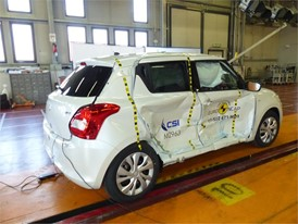 Suzuki Swift - Side crash test 2017