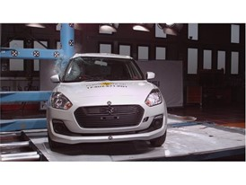 Suzuki Swift - Pole crash test 2017