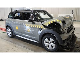 MINI Countryman - Frontal Full Width test 2017 - after crash