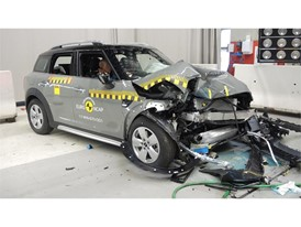 MINI Countryman - Frontal Offset Impact test 2017 - after crash