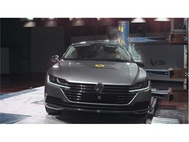 VW Arteon - Pole crash test 2017