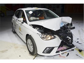 Seat Ibiza - Frontal Offset Impact test 2017 - after crash
