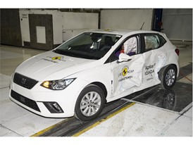 Seat Ibiza - Side crash test 2017