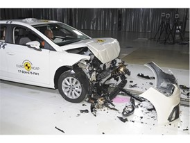 Seat Ibiza- Frontal Full Width test 2017 - after crash