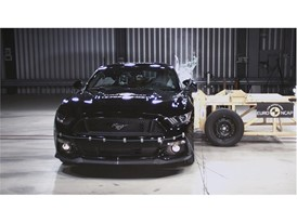 Ford Mustang Reassessment - Side crash test 2017
