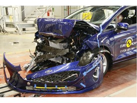 Ford Fiesta- Frontal Full Width test 2017 - after crash