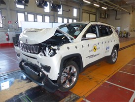 Jeep Compass- Frontal Full Width test 2017 - after crash