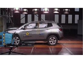 Jeep Compass - Frontal Offset Impact test 2017