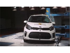 Kia Picanto - Pole crash test 2017