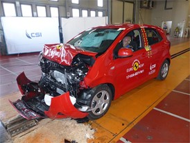 Kia Picanto - Frontal Full Width test 2017 - after crash