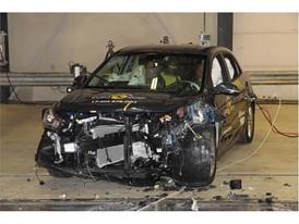 Kia Rio- Frontal Offset Impact test 2017 - after crash