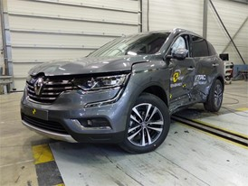 Renault Koleos  - Side crash test 2017-after crash