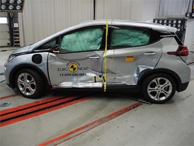 Opel/Vauxhall Ampera-e  - Side crash test 2017-after crash