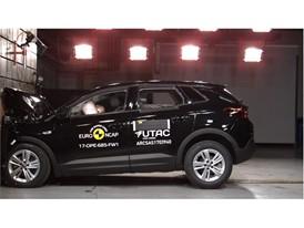 Opel/Vauxhall Grandland X- Frontal Full Width test 2017