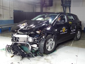 Opel/Vauxhall Grandland X- Frontal Offset Impact test 2017 - after crash