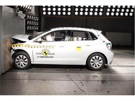 VW Polo - Frontal Full Width test 2017
