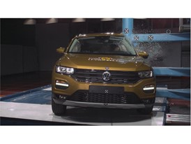VW T Roc - Pole crash test 2017