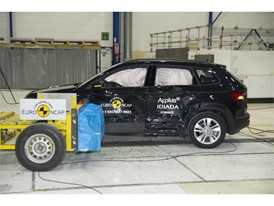 Skoda Karoq - Side crash test 2017 - after crash
