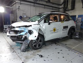 Citroën C3 Aircross - Frontal Offset Impact test 2017 - after crash