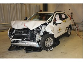 Mitsubishi Eclipse Cross - Frontal Offset Impact test 2017 - after crash