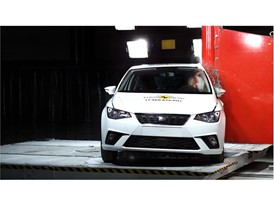 Seat Ibiza - Pole crash test 2017