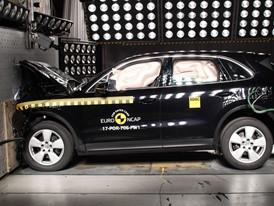 Porsche Cayenne - Frontal Full Width test 2017