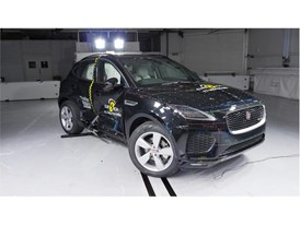 Jaguar E-Pace - Side crash test 2017 - after crash