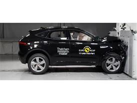 Jaguar E-Pace - Frontal Full Width test 2017