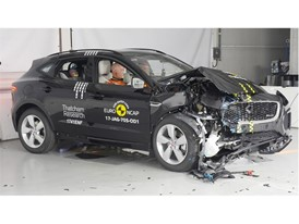 Jaguar E-Pace - Frontal Offset Impact test 2017 - after crash
