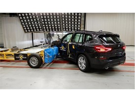 BMW X3 - Side crash test 2017 - after crash