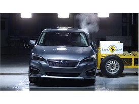 Subaru Impreza - Side crash test 2017