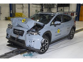 Subaru XV - Frontal Full Width test 2017 - after crash